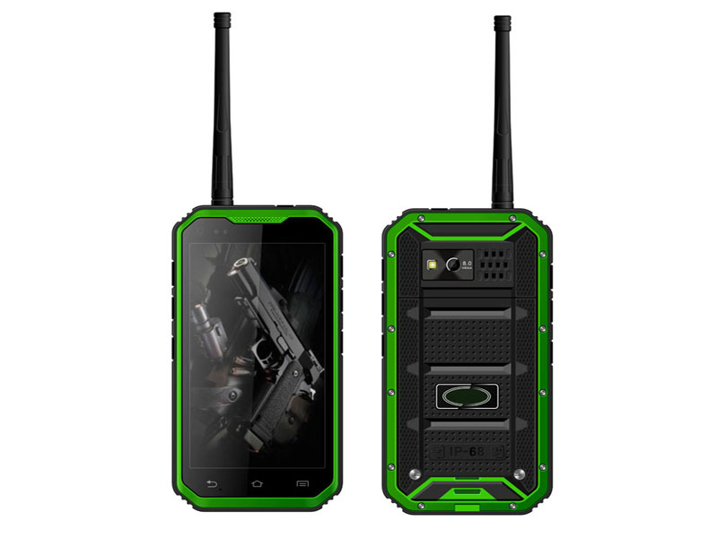 5 inch Quad-core Waterproof 3G Rugged Cellphone with NFC