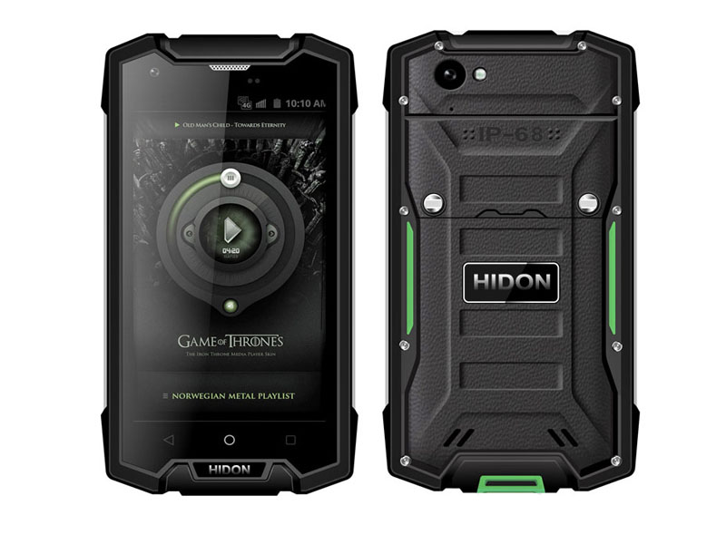 Unlocked 4G LTE Military Tough Rugged Cell Phone HR509