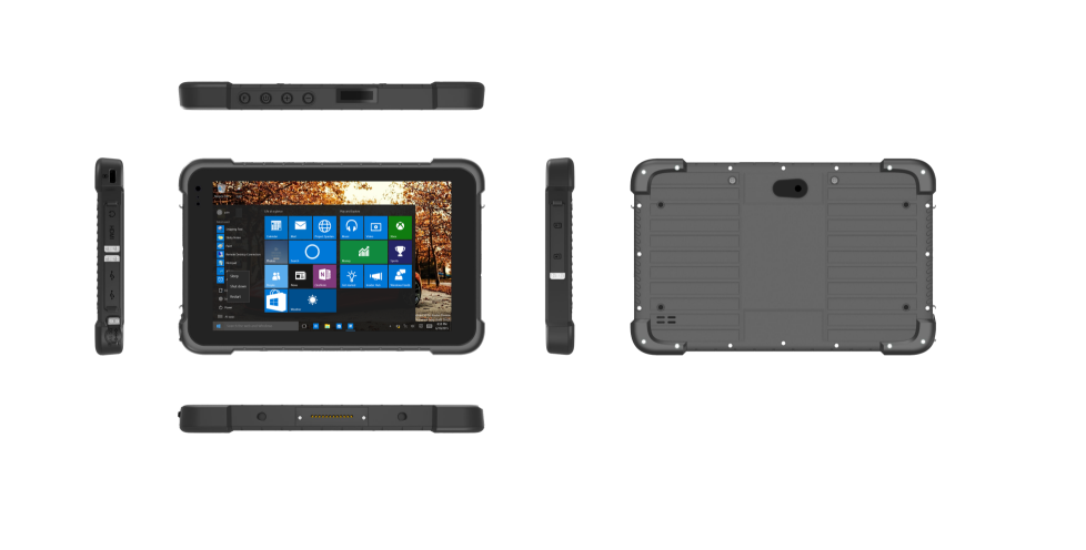 Hignton 8 inch Android or Windows 10 tough computer Rugged tablet PC handheld mobile terminal