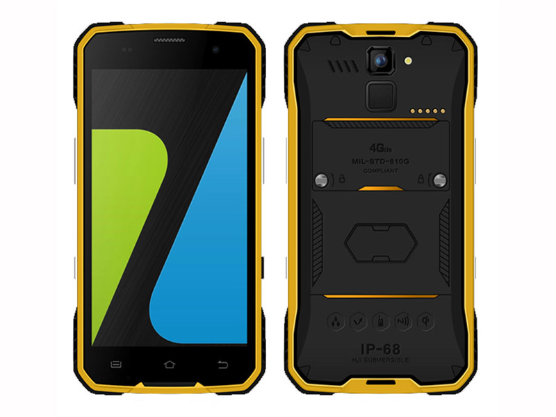 4.7 Inch MT6735 Quad-core Android5.1 Wireless Charge Rugged Phone With Wireless Charge