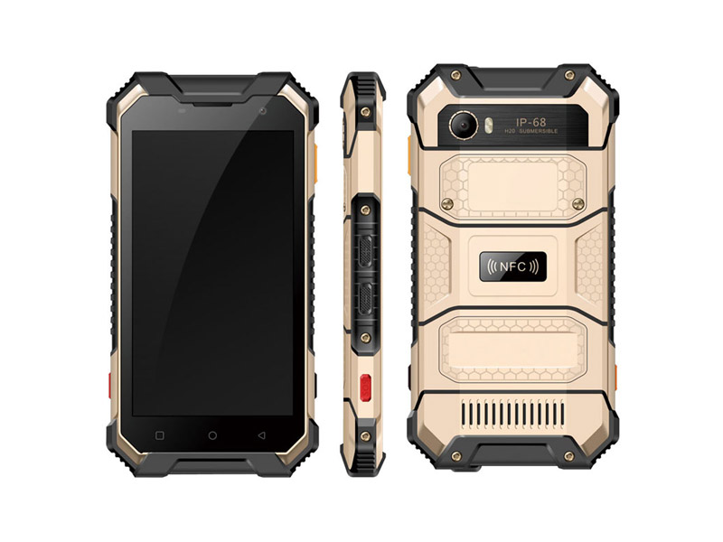 5 inch IP68 Octa-core 4G 64G FHD waterproof phone rugged smartphone