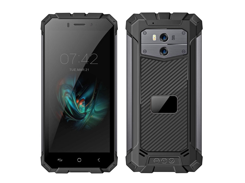 Cheapest 5.5'' IP68 ANDROID 8.1 3G with Fingerprint PTT Waterproof phone Rugged unlock Smartphone