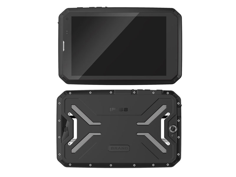 IP68 Rugged tablet PC Android 9.0 4G+64G 4GLTE Octa-core 8 inch tablet with NFC UHF RFID 2D Barcode