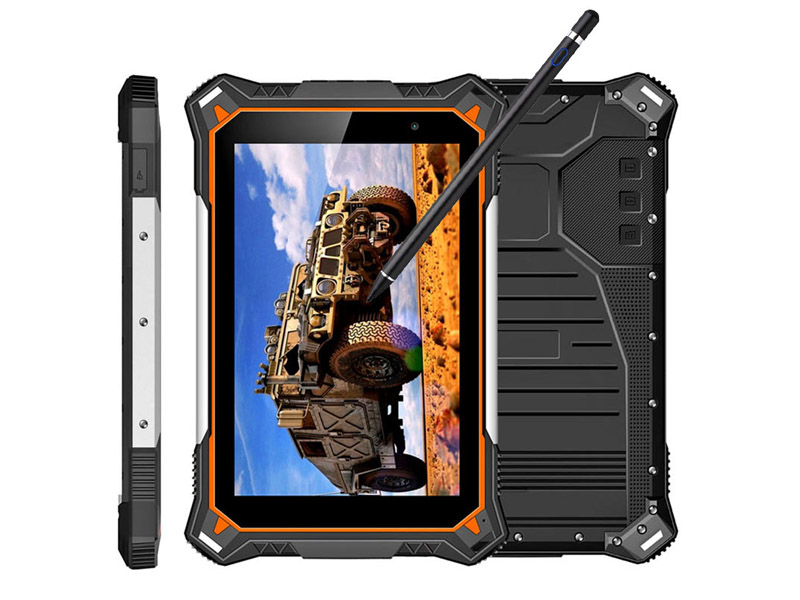 Cheapest Factory rugged Tablets 8inch 1920*1200 IP68 -30C Octa-core 4G LTE 4G+64G computer tablet pc