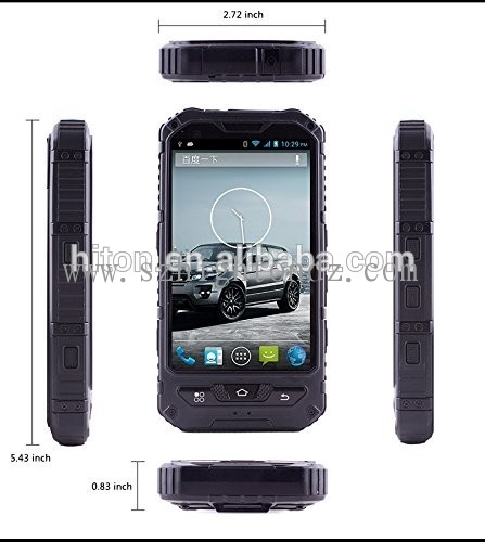 3G Android 4.0 inch NFC Quad core IP68 Rugged Smartphone