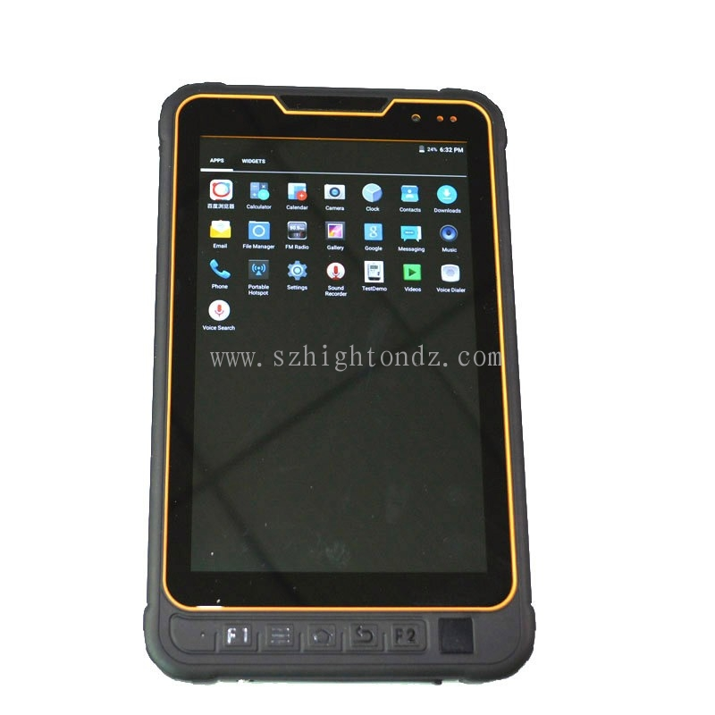 Cheapest 8 inch 4G LTE fingerprint scanner waterproof tablet pc with RS485 port tablet