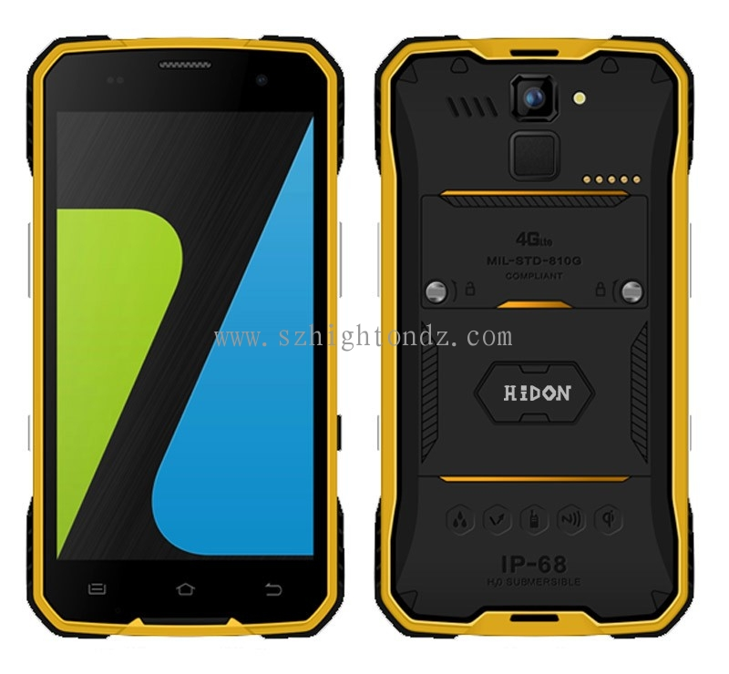 Cheapest 4.7 Inch MT6735 Quad-core Android5.1 Wireless Charge Rugged Phone With Wireless Charge